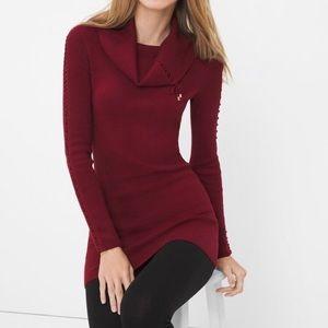 WHBM tunic sweater XLNWOT White House Black Market